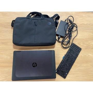 + HP Zbook 15 Stan BDB i7 16GB SSD + torba HP!!! +