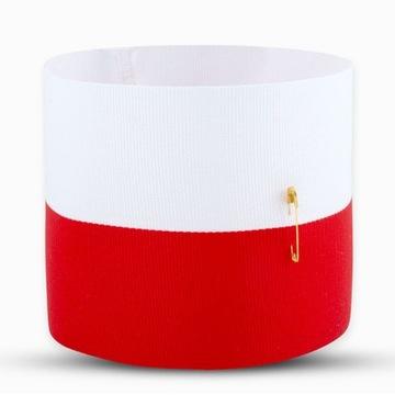 Red is bad opaska flaga patriotyczna