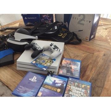Konsola PS4 PRO Gogle VR mega zestaw