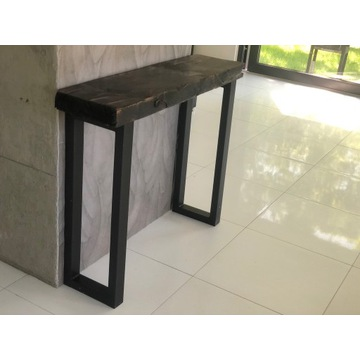 Konsola stolik stół ławka loft Drzewo rustykalne