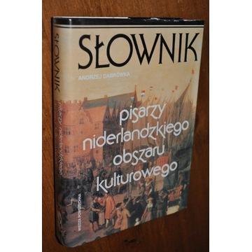 Słownik pisarzy niderlandzkiego obszaru KRAKÓW