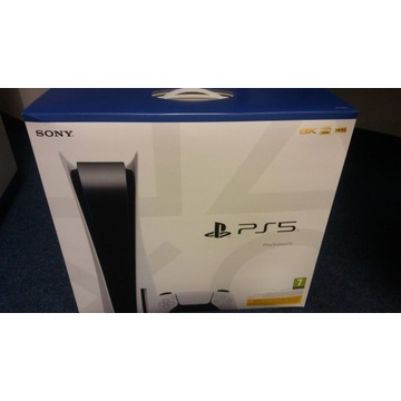 Konsola PS5 PlayStation nieotwierana nowa Warszawa