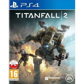 Titanfall 2 PS4 nowa folia PL po polsku