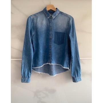 Stylowa dżinsowa koszula Calvin Klein. R.S