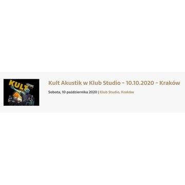 Bilety - KULT Akustic Kraków