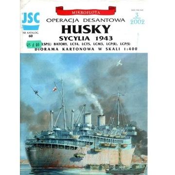 JSC 3-2002 Operacja HUSKY 1943