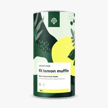 NATURAL MOJO FIT SHAKE KOKTAJL- LEMON MUFFIN