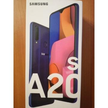 Telefon Samsung Galaxy A20s SM-A207 3/32GB Niebies