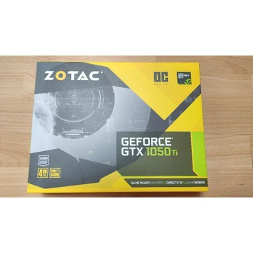 ZOTAC GeForce GTX 1050 Ti OC Edition Gwarancja