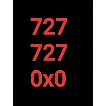 - 727 727 0x0 -  Starter Złoty numer