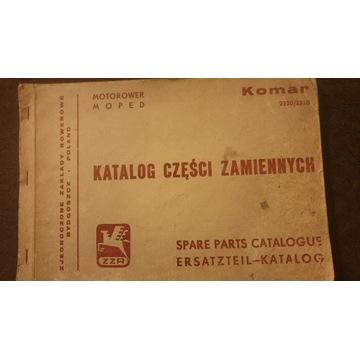 Książka katalog Romet Komar 2320/2330 Polmozbyt