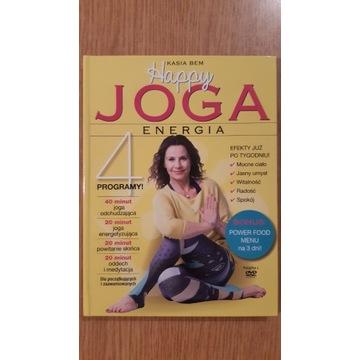Happy joga. Energia + DVD - Kasia Bem