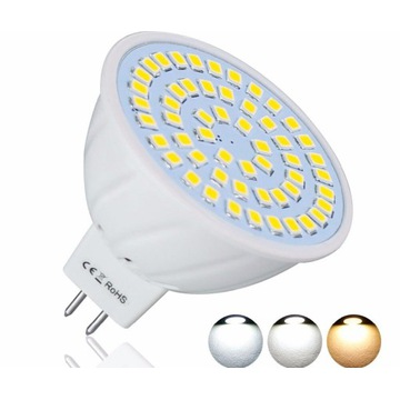 Żarówka gu5 LED ostre bolce 30 diód LED 5 W