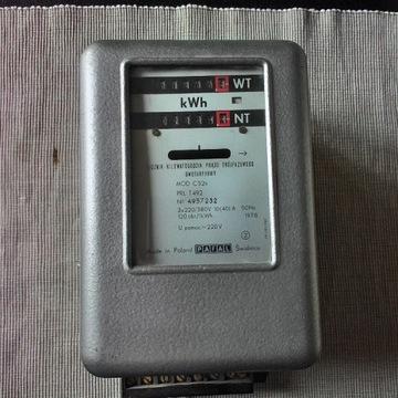 LICZNIK ENERGII 3 FAZOWY 2 TARYFOWY
