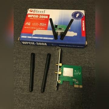 Karta WiFi PCIe N 300 Mbpze