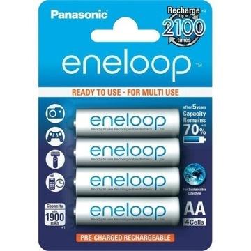 Akumulatorki AA 2100 mAh Eneloop PANASONIC 4 szt.