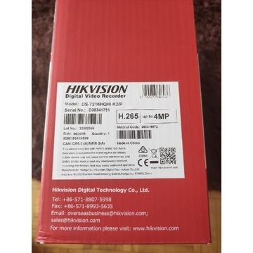 Nagrywarka Hikvision DS-7216HQHI-K2/P PoC TVI