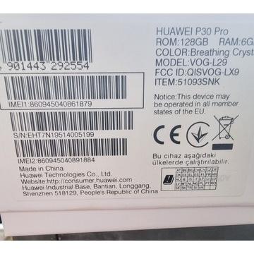 Sprzedam Huawei pro 30