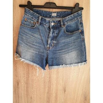 Spodenki krótkie jeansowe S