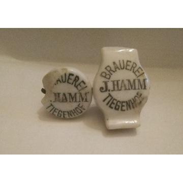 Porcelanki z Browaru J. Hamma - Tiegenhof