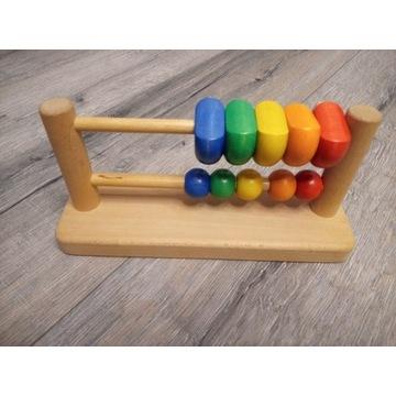 Liczydełko dzięciece zabawka.drewniana