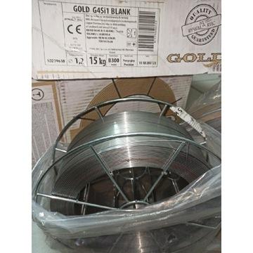 Drut spaw niemiedziowany GOLD G4Si1 fi 1,2 x15 kg