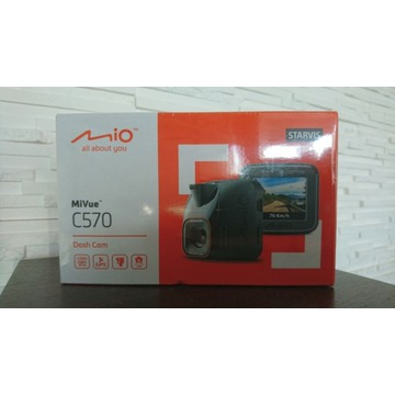 Mio MiVue C570 wieorejestrator kamera samochodowa