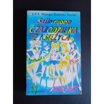 Sailormoon Czarodziejka z Księżyca, tom 4