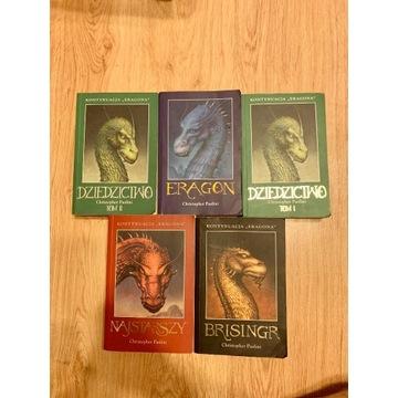Christopher Paolini Eragon Komplet Tomy 1-4