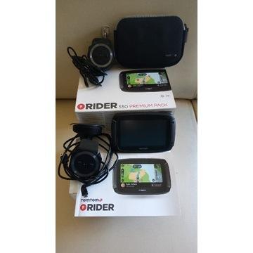 nawigacja motocyklowa Tomtom RIDER 550 Premium