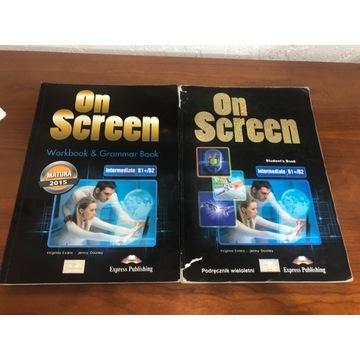 On screen Workbook&Grammar Book +Student's  B1+/B2