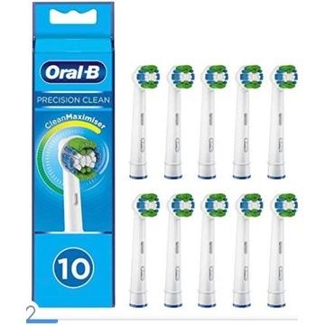 Główki szczoteczki Oral-B Precision Clean z włosie