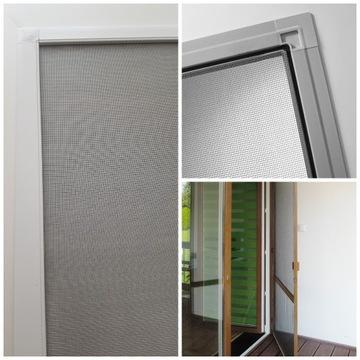 Moskitiery okienne   Moskitiery drzwiowe