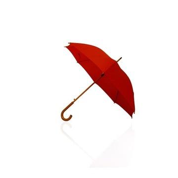 Parasol czerwony piękny!