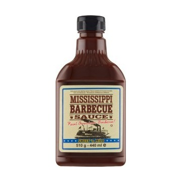 Sos Mississippi barbecue BBQ sauce 510g 440ml -25%