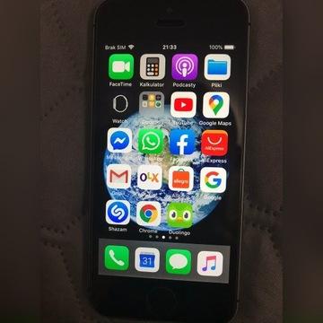 IPhone 5S 32 GB stan idealny bez żadnych rys.