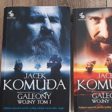 Galeony wojny. Tom 1 i 2. Jacek Komuda
