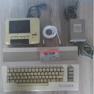 Commodore C64-Komplet.