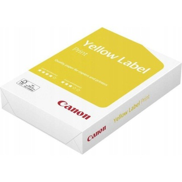 Papier ksero Canon Yellow Label A4 80g 500szt