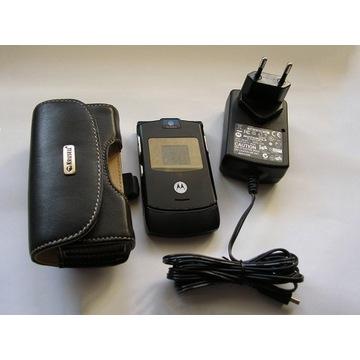 Motorola V3 bez simlocka + ładowarka Super stan.