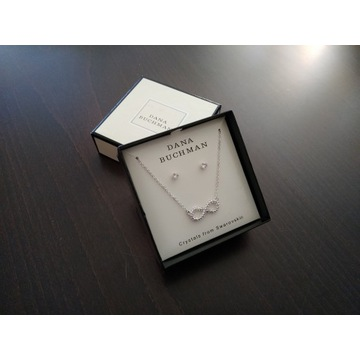 Nowy komplet biżuterii: wisiorek + kolczyki