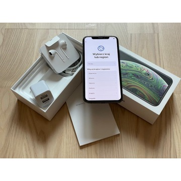 iPhone XS 64GB Space Grey (9/2019) jak nowy
