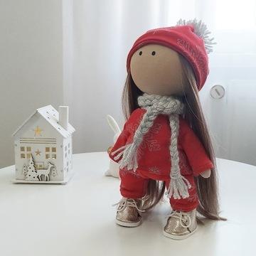 lalka ręcznie robiona prezent tilda