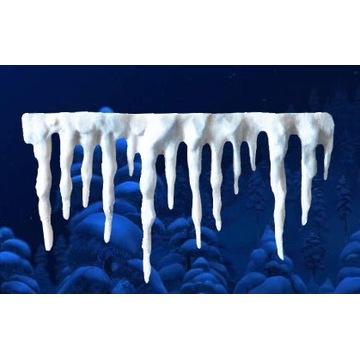 Cukrowe sople lodu -Kraina Lodu