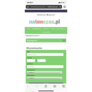 Portal plus domena Natenczas.pl