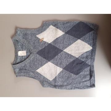 H&M kamizelka chłopięca modna rozmiar 92