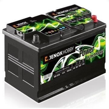 Akumulator Jenox do kampera, łodzi 100Ah DEEP CYCL