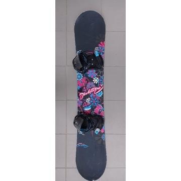 Snowboard Rossignol Temptation 148 +wiązania +buty