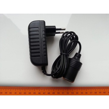 Wtyk zapalniczki samochodowej Ładowarka AC 230V Ad