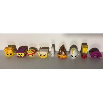 Shopkins figurki - żywność, 9 szt.